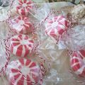 Peppermint Candy Cane Bath Bomb